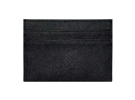 Main Back – Black Cardholder