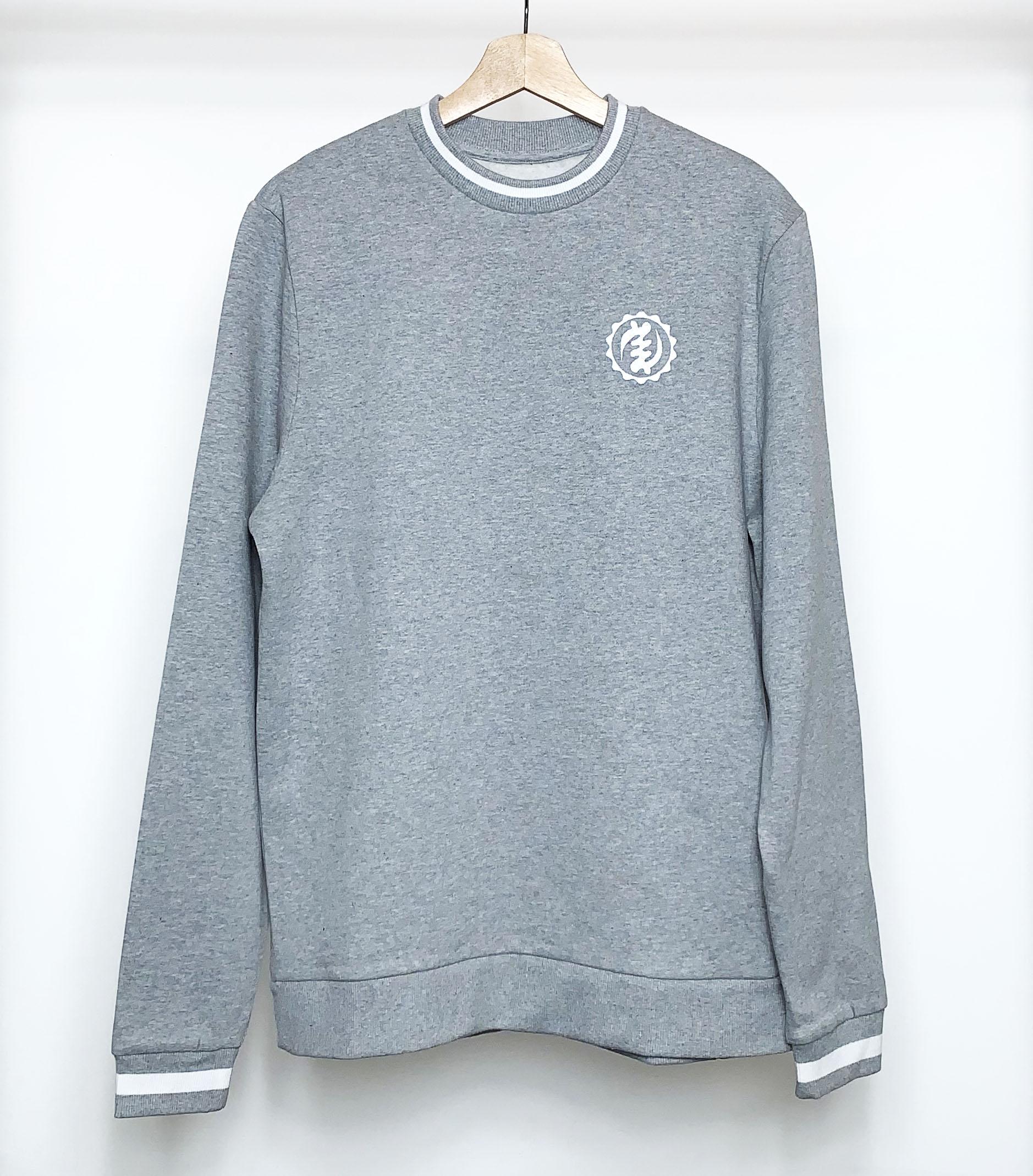 Grey Sweatshirt Top